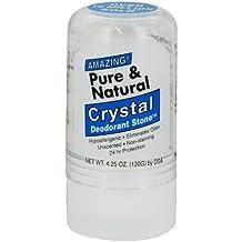 Thai Deodorant Stone Pure And Natural Crystal Deodorant Stone -- 4.25 oz