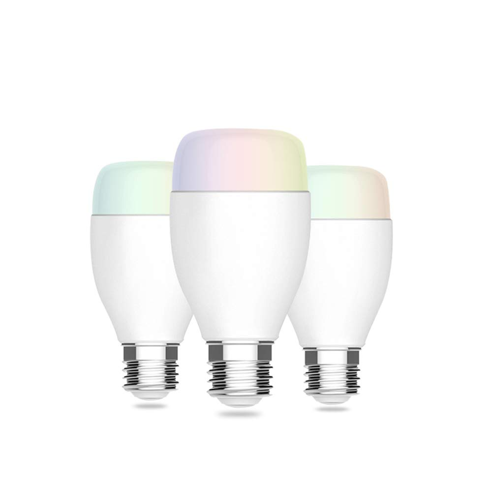 Timing Function 1 Pack SUNERIC WiFi Smart Bulb Remote Control Your Appliances Anywhere 16 Million Colors Changing A19 50W Equivalent Compatible with Alexa for Voice Control//Google Assistant