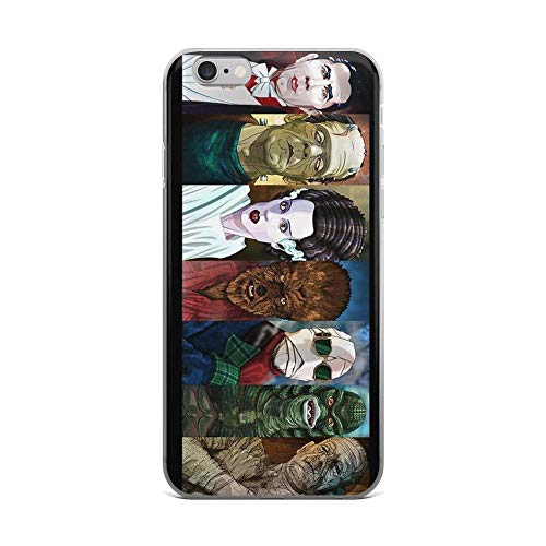 iPhone 6 Plus/iPhone 6s Plus Case Clear Anti-Scratch Monster Squad, Monsters Cover Phone Cases for iPhone 6 Plus iPhone 6s Plus -