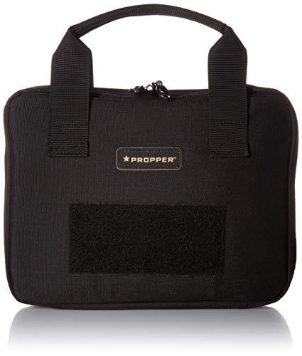 Propper Unisex 8x12 Pistol Case, Black, One Size
