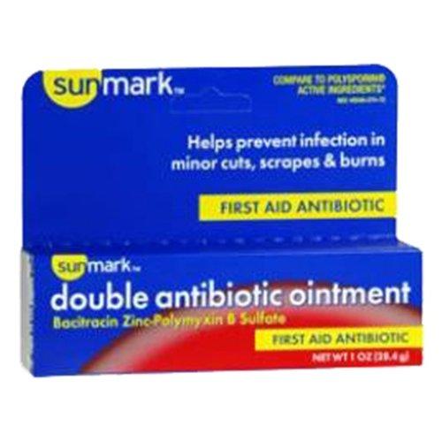 sunmark Double Antibiotic (Polysporin Antibiotic Cream)