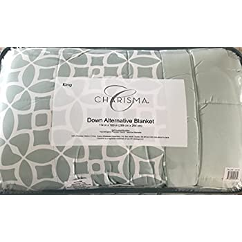 charisma king size light green down alternative blanket 114 by 100 inches - Costco Down Comforter