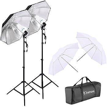 Amazon Com Kshioe 450w Photography Dual Photo Umbrella Lighting