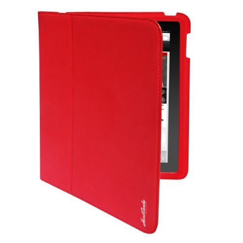 Hard Candy Cases Candy Convertible Case for Apple iPad 4 - iPad 3rd Generation and iPad 2 - Red (CS-IPAD2-RED)