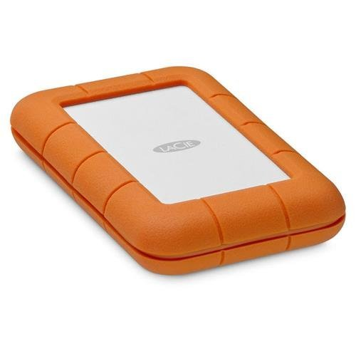 LaCie 5TB Rugged Thunderbolt / USB-C Mobile External Hard Drive, 130MB/s Transfer Rate by LaCie (Image #2)