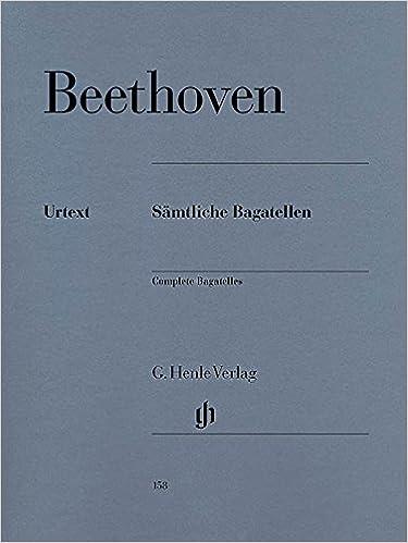 Bagatelles (Intégrale) Piano