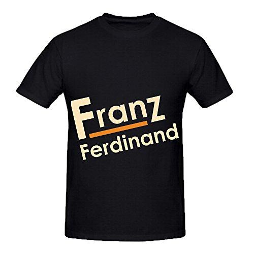 franz-ferdinand-rock-album-men-o-neck-cool-shirts-black