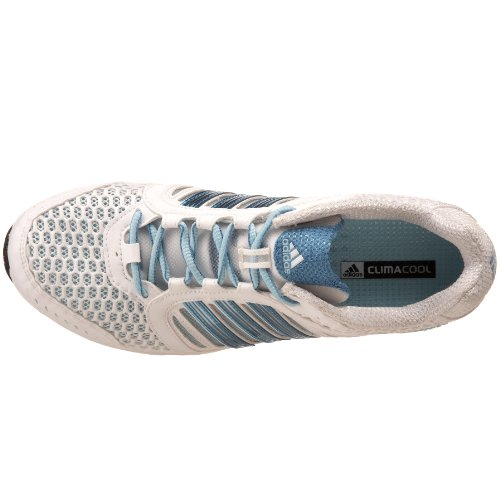 Adidas Donna Climacool Modula Scarpa Da Corsa Running Bianco / Blu Magico Metallizzato / Blu Gesso