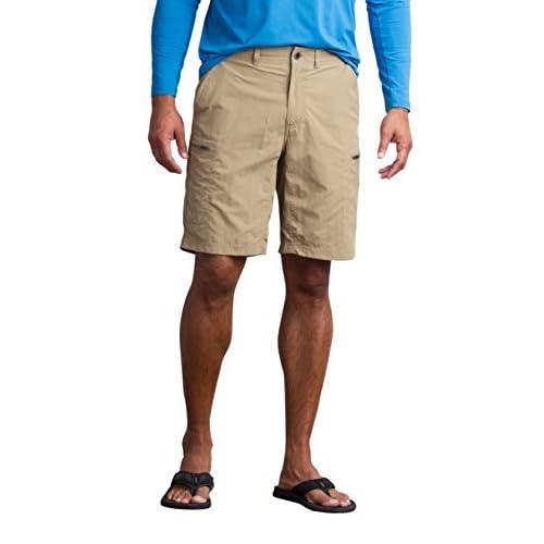 "Top ExOfficio Men's Sol Cool Camino Lightweight Quick-Dry Cargo Shorts, 10"""