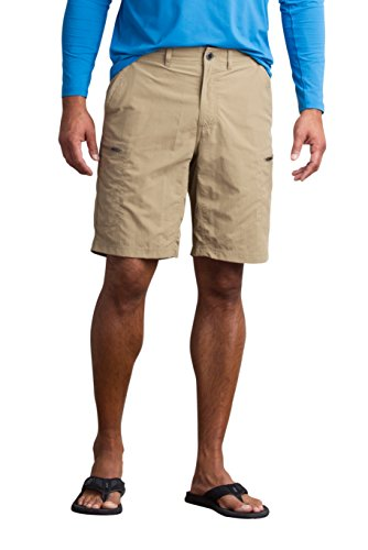 Shorts Ex Officio Hiking (ExOfficio Men's Sol Cool Camino Shorts 10'', Walnut, 38)