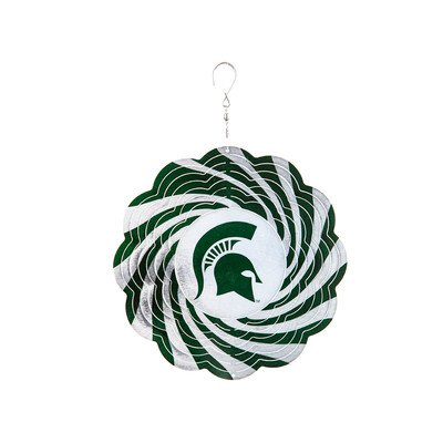 NCAA Geo Spinner NCAA Team: Michigan State by Fans With Pride
