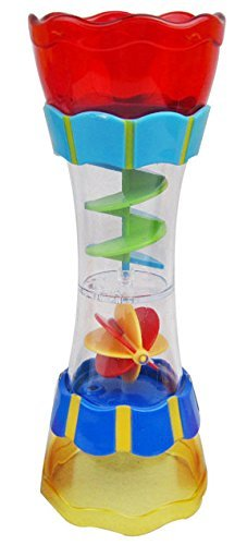 Meet Very Fun Bath Toy Specially Designed Rotating Flow Water Leak Column Children Play in The Water Tools Beach Playing With Sand Tools-A - Designed Column