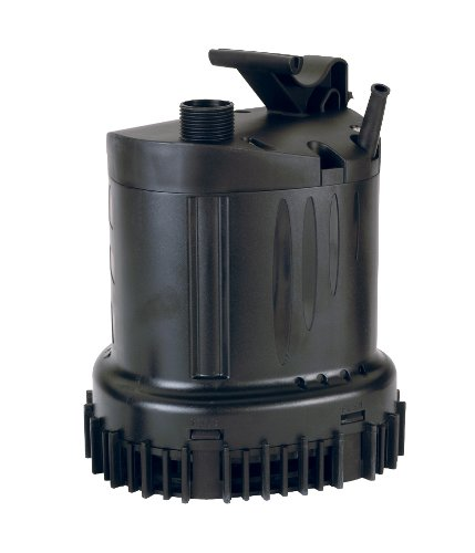 Submersible Waterfall/Utility Pump 1430 GPH by Dirty Water Pump