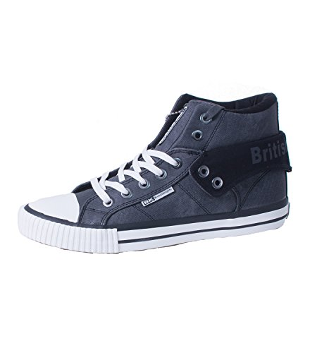 Knights Roco Sneakers British Grau BK Herren Hohe Aqdx7Uw
