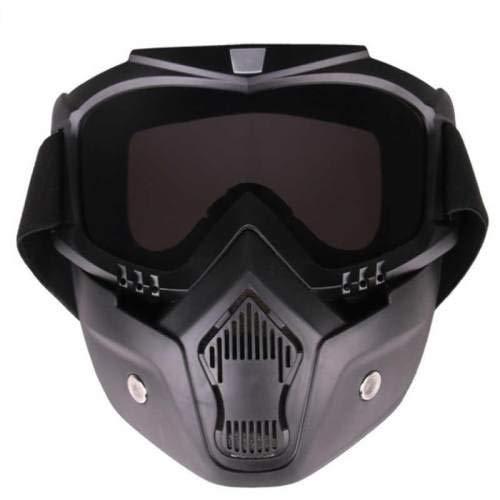 TXDIRECT Casco De Esquí De Cara Máscara Conducción ...