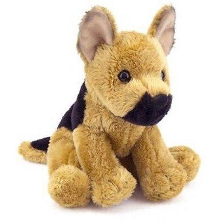 "New Arrival Mini Pups Prince German Shepherd Dog Plush Stuffed Animal 5""By All Seven"