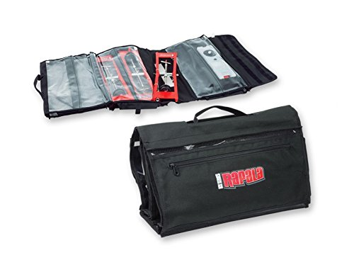 сумка Rapala Lite Tackle Bag : Rapala tip up fishing tackle storage bag black