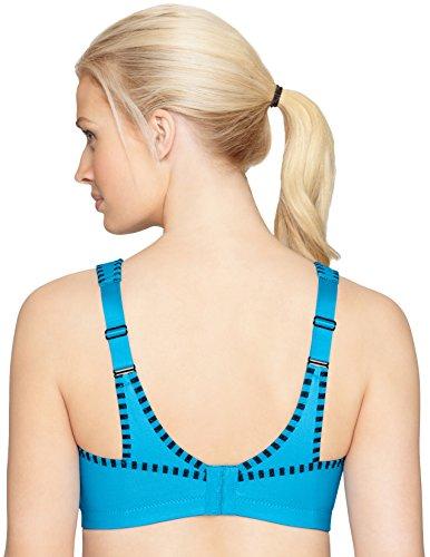 Glamorise Sport-Bustier Bh Mit Perfektem Halt, Sujetador Para Mujer Azul (weiche Flieder 431)