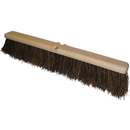 O-Cedar JAN116 24'' Heavy-Duty Push Broom Head (Pack of 6) by O-Cedar