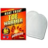 Grabber Toe Warmers with Adhesive - 8 Pair -Pack -Amazon