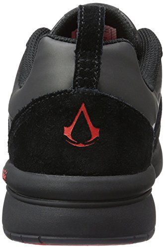 Supra X Assassins Creed Schaarschoenen Heren Zwarte Atletische Trainer Sneakers