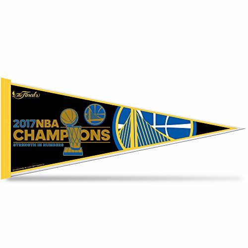 Rico Industries Golden State Warriors 2017 NBA Champs Pennant by Rico Industries