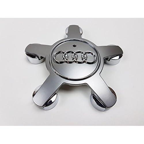 1x Nouveau Logo Centre Cap hub Cap pour 40,6cm 43,2cm 45,7cm Roue en alliage 4F0601165N