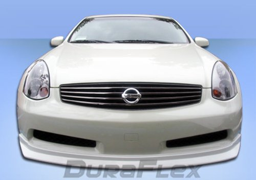 Extreme Dimensions Replacement for 2006-2007 Infiniti G Coupe G35 Sport Polyurethane D-Spec Front Lip Under Spoiler Air Dam - 1 Piece