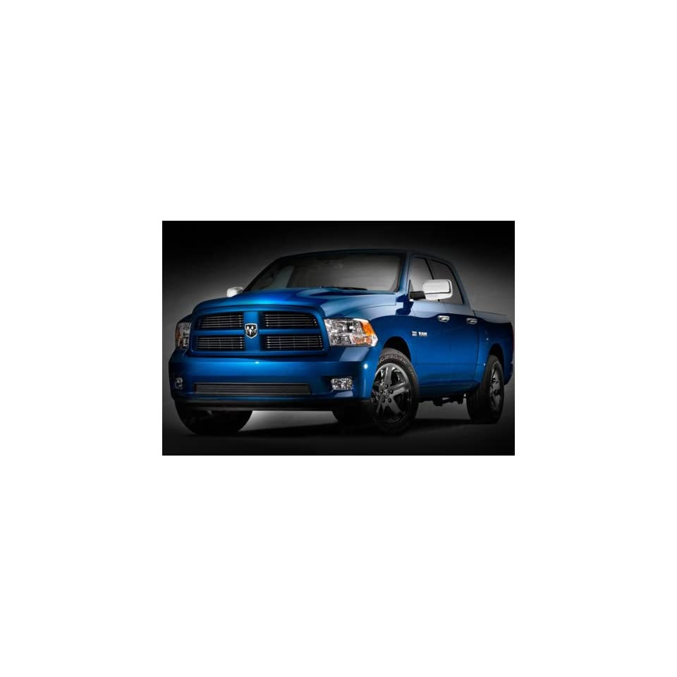 Dodge Ram 1500 2009 2010 SES Chrome Mirror Covers W/O Turn Signals