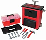 : Lanard Workman Deluxe Rolling Tool Box : Color may vary