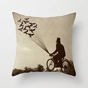 Kissing Rain Steampunk Explorer Throw Pillow By Andreaclarefor Your Home