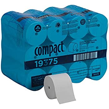 """Case SunnyCare® #5110 White 10/"""" Touchless Paper Towel Rolls 800/' Roll 6"""