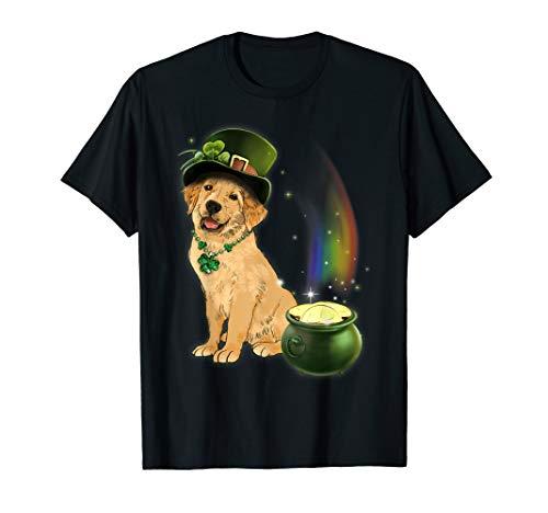 St Patricks Day Golden Retriever Dog Lover Shirt