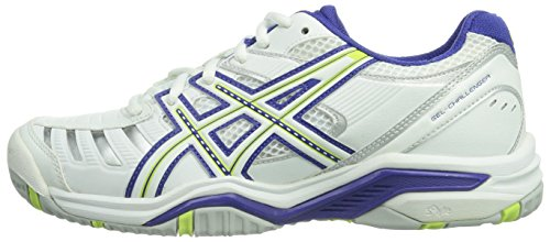 white Bianco Green sharp Gel 9 Taglia royal Asics challenger weiß 0170 Blue Scarpa p1qBX0nw