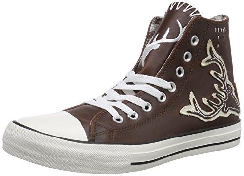 Krüger BUAM 9008, Herren Hohe Sneakers, Braun (braun / 7), 46 EU