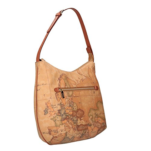 Alviero Martini shoulder bag corners Geo Natural