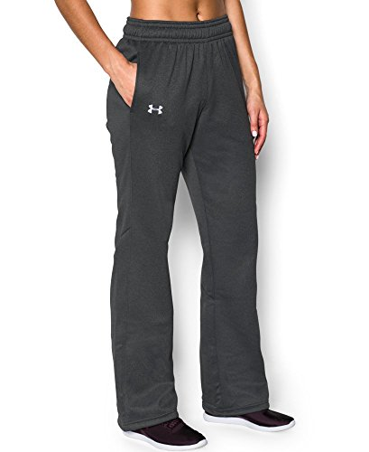 Under Armour Women's UA Storm Armour Fleece Pant Small Carbon Heather