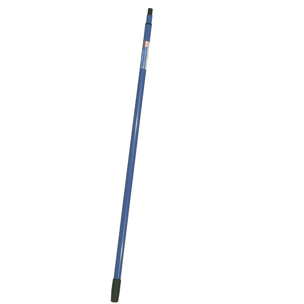 Warner 4' - 6.5' Steel Twist Lock Extension Pole, Male Threaded, 262 by Warner Manufacturing