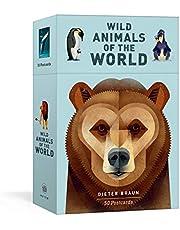 Wild Animals of the World: 50 Postcards