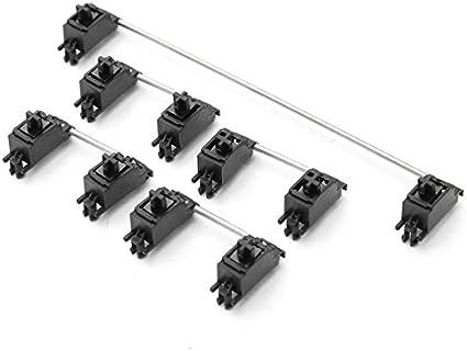 Tutoy 2 X 6.25 X PCB Montaje Teclado Mecánico Cap Estabilizador para Cherry MX Switch