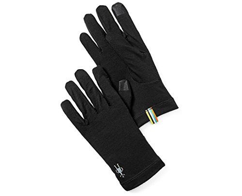 (Smartwool Unisex Merino 150 Gloves Black MD)
