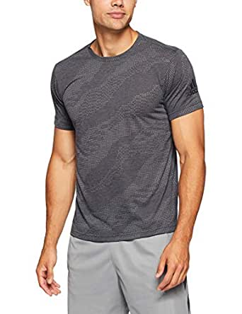 adidas Men's CZ5411 Freelift Aeroknit T-Shirt, Black, M