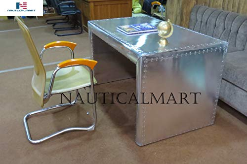 NAUTICALMART Streamline Desk Aviator Table Home Decor