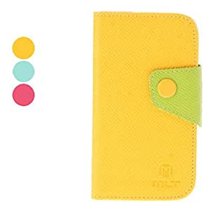 Elegant Style PU Leather Case with Card Slot for Samsung Galaxy S3 Mini I8190 (Assorted Colors) --- COLOR:Rose