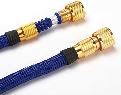 Jieqiong Expandable Garden Hose Set, Durable Flexible Water Hose, Extra Strength Fabric, Lightweight Expanding Hose for Outdoor Lawn Car Watering Plants,75FT(22.5M)