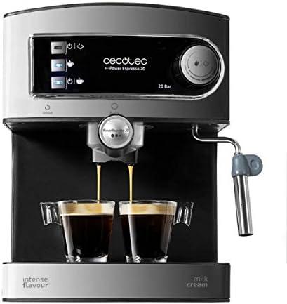 Cafetera Express para Espresso Y Cappuccino Power Espresso 20 ...