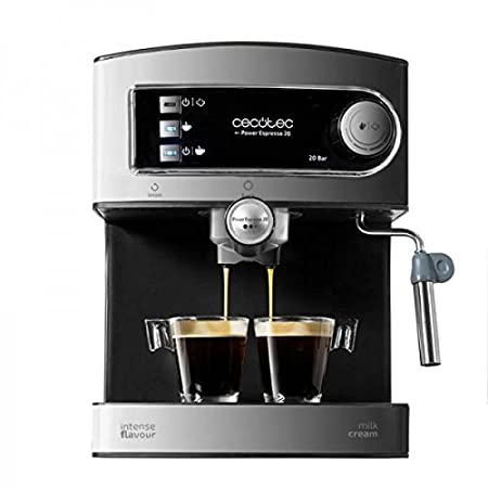 Cafetera Express para Espresso Y Cappuccino Power Espresso 20.