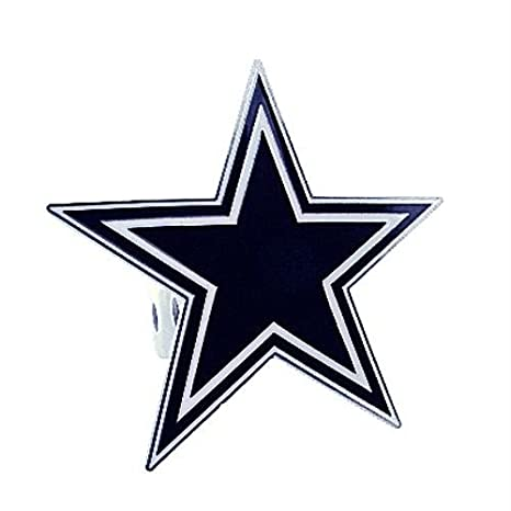 e820bf620a4 Image Unavailable. Image not available for. Color  Siskiyou NFL Dallas  Cowboys Large Hitch Cover ...