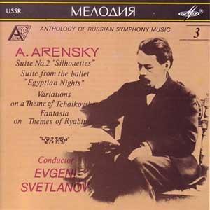 arensky symphony - 2