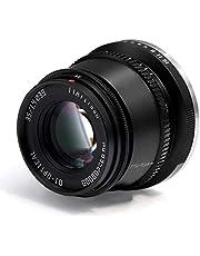 TTArtisan 35mm F1.4 APS-C Handmatige Focus Lens Compatibel met Fuji X Mount Camera X-A10 X-A20 X-A3 X-A5 X-A7 X-M1 X-M2 X-T10 X-T2 X-T20 X-T3 X-T30 X-T100 X-T200 X-Pro1 X-Pro2 X-Pro2 X-Pro3 X-E1